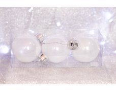 Набор шаров «Ледяной дым» 8см 3шт.(96pcs)SX-2077
