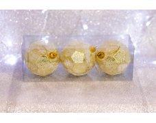 Набор шаров «Золотой мяч» 8см 3шт.(96pcs)SX-2115