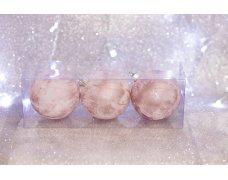 Набор шаров «Розовый век» 8см 3шт.(96pcs)SX-2122