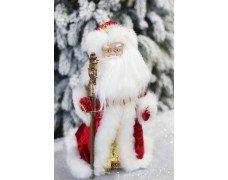 Дед Мороз 2019 красный музыка 40см