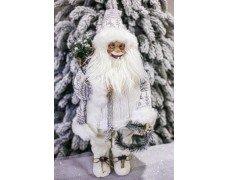 Дед Мороз белый 70см
