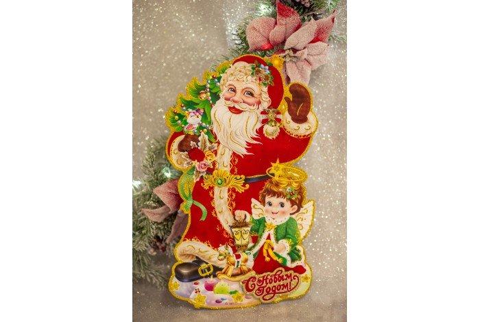"""Плакат '""""Дед Мороз"""" 45см"""