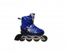 Роликовые коньки Синие размер: 35-38