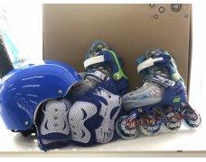 Ролики раздвижные 29-33 (комплект: защита и шлем)