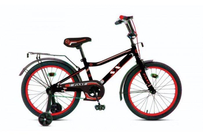 """Велосипед Fast  18"""" цвет: черно-красный, , шт"""