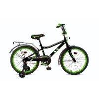 """Велосипед Fast  18"""" цвет: черно-зеленый, , шт"""