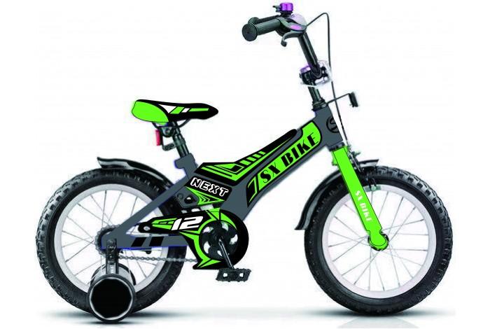 """Велосипед Next  16"""" зеленый, руч. тормоз (1pcs), , шт"""
