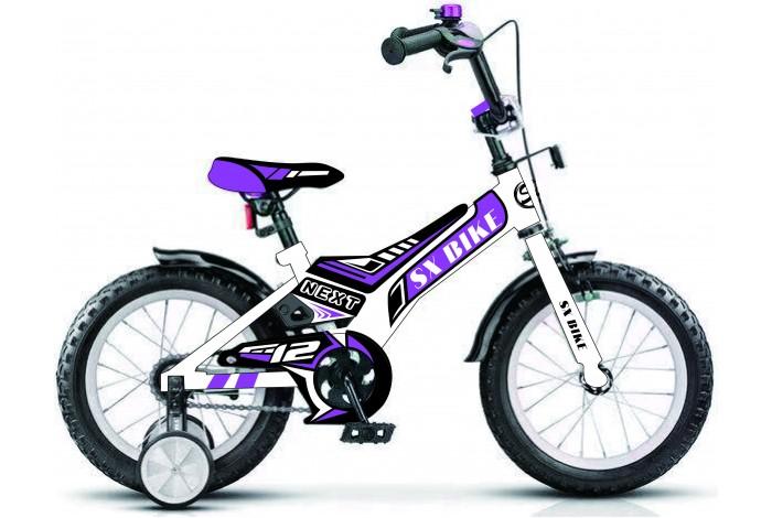 """Велосипед Next  16"""" белый, руч. тормоз (1pcs), , шт"""