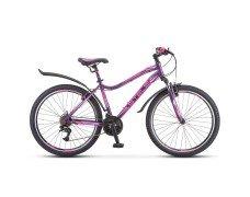 """Велосипед 26 Stels Miss 5000 V V041 17"""" Пурпурный"""