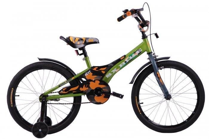 Велосипед Next 2.0  16 Камуфляж, руч. тормоз