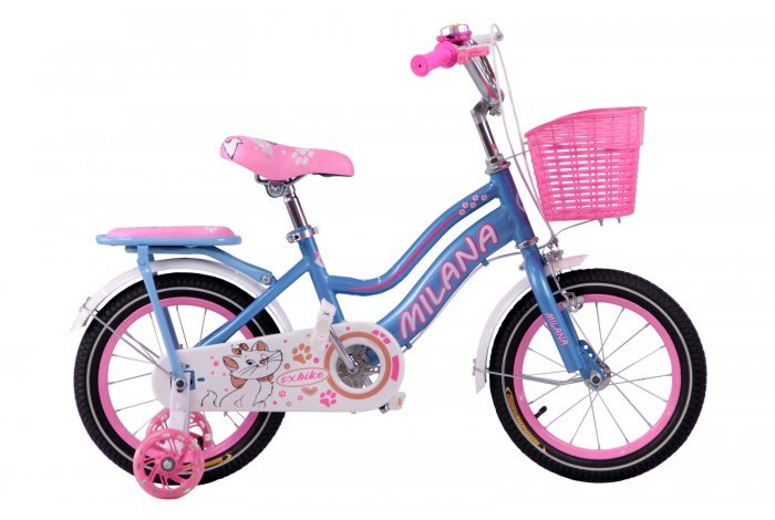 """Велосипед Milana 14"""" цвет: бирюзовый, , шт"""