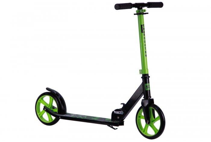 Самокат двухколесный, алюминиевая рама, колесо 200мм, вес:5,5, нагрузка: 70кг