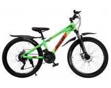 """Велосипед скоростной 24 """"Boxer"""" зеленый"""