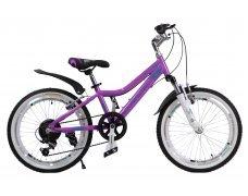 """Велосипед скоростной 20 """"Melody"""" фиолетовый"""
