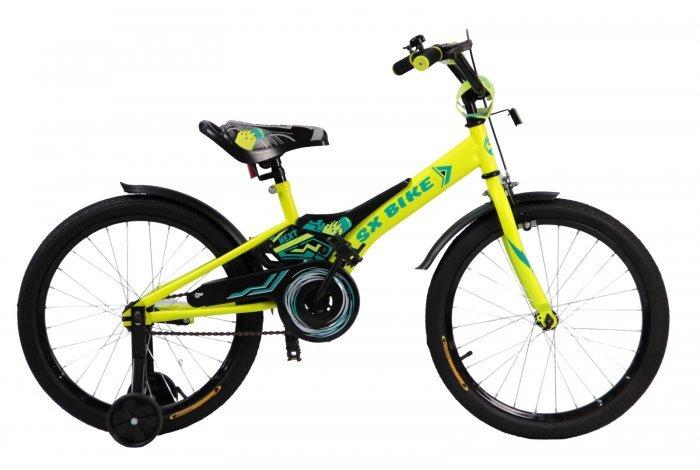 Велосипед Next 2.0  14 зеленый, руч. тормоз