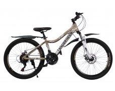 """Велосипед скоростной 24 """"Tenderness"""" бежевый"""