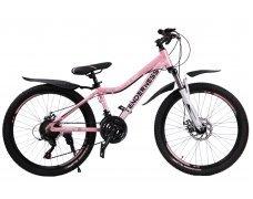 """Велосипед скоростной 24 """"Tenderness"""" розовый"""