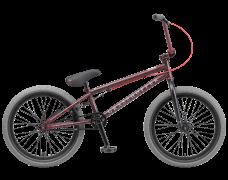 """Велосипед TechTeam Grasshoper 20""""BMX, красно-серый,рама сталь,вынос алюмин,55 см, без пег"""