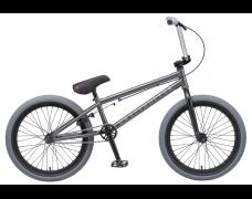 """Велосипед TechTeam Mack 20""""BMX, серый,рама стальная,вынос алюмин.55мм,без пег"""