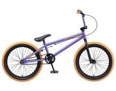 """Велосипед TechTeam Mack 20""""BMX, фиол,рама стальная,вынос алюмин.55мм,без пег"""