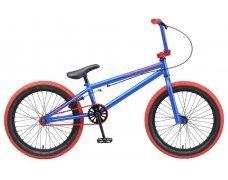 """Велосипед TechTeam Mack 20""""BMX, синий,рама стальная,вынос алюмин.55мм,без пег"""