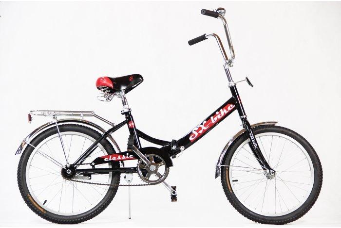 """Велосипед SX bike Classic 24"""" черно-красный"""