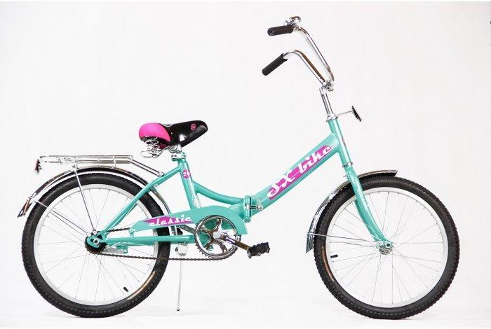"""Велосипед SX bike Classic 24"""" бирюзовый"""