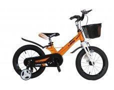 "Велосипед LANQ 14"" алюм. рама, руч. тормоза (Оранж)"