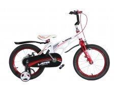 """Велосипед LANQ 18"""" алюм. рама, руч. тормоза (белый)"""