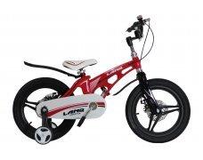 """Велосипед LANQ 18"""" алюм. рама, руч. тормоза, литые обода (красный)"""