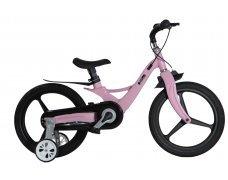 """Велосипед Skillmax 14"""" алюм. рама, руч. тормоза, литые обода  (неж.роз)"""