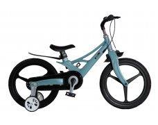 """Велосипед Skillmax 14"""" алюм. рама, руч. тормоза, литые обода  (Бирюз)"""