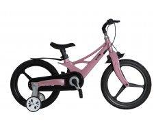 """Велосипед Skillmax 14"""" алюм. рама, руч. тормоза, литые обода  (роз)"""