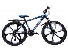 """Велосипед скоростной """"FUMEIRUI"""" 26 на литых дисках, 24 скорости, черно-синий"""