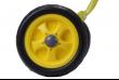 Детский трехколесный велосипед желтый