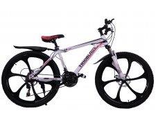 """Велосипед скоростной """"Trioblade TR-560"""" 26 на литых дисках, 24 скорости, бело-красный"""