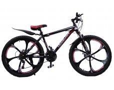"""Велосипед скоростной """"Trioblade TR-560"""" 26 на литых дисках, 24 скорости, черно-красный"""
