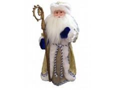 Дед Мороз музыкальный золотой 50 см