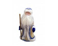 Дед Мороз музыкальный золотой 40 см