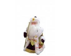 Дед Мороз музыкальный бордовый 30 см