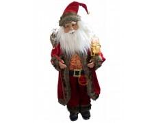 Дед Мороз музыкальный красный 70 см