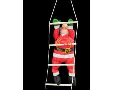 Дед Мороз на лестнице 100 см