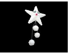 Новогоднее украшение Подвеска Звезда