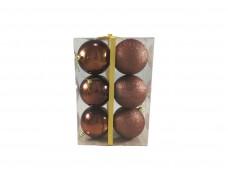 Набор шаров 10 см 6 шт