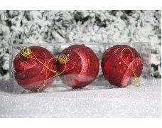 """Новогодние шары на елку """"Серебряная дуга"""" 10см 2шт 90pcs"""