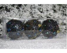 """Новогодние шары на елку """"Павлин"""" 8см 3шт 96pcs"""
