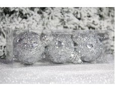 """Новогодние шары на елку """"Зеркало"""" 8см 3шт 96pcs"""